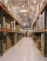 Working In Stock Control And Warehousing